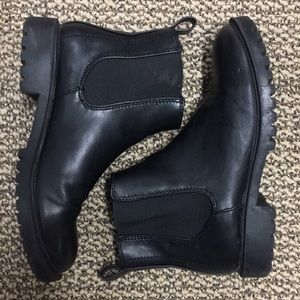 Urban Outfitters pull on boots.  Size 6